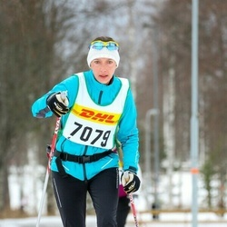 Skiing 30 km - Jenny Andersson (7079)