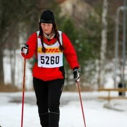 Skiing 30 km - Andrea Ingemansson (5260)