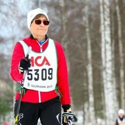 Skiing 30 km - Christine Berglund (5309)