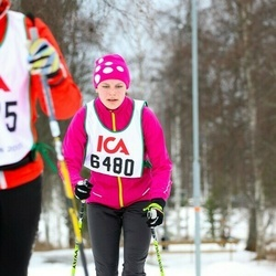 Skiing 30 km - Agnes Lindell (6480)