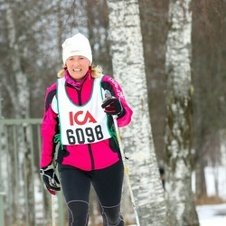 Skiing 30 km - Anki Bergstrand (6098)