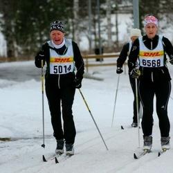 Skiing 30 km - Monika Norén (5014), Carolina Brindeberg (6568)