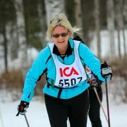 Skiing 30 km - Eva Nyberg (5507)