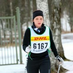 Skiing 30 km - Anna Ingvarsson (6167)