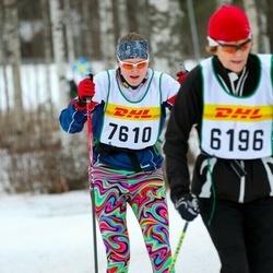 Skiing 30 km - Nina Hallor (7610)