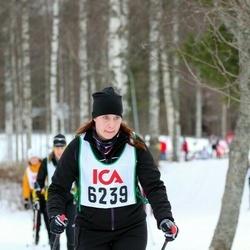 Skiing 30 km - Charlotte Holmsten (6239)