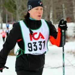 Skiing 30 km - Jenny Klarin Högström (9331)