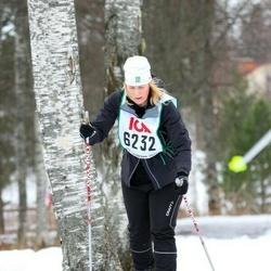 Skiing 30 km - Camilla Ahlberg (6232)