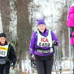 Skiing 30 km - Carola Vesterinen (6408)