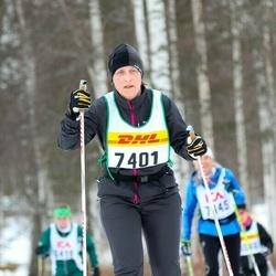 Skiing 30 km - Agneta Blomquist (7401)