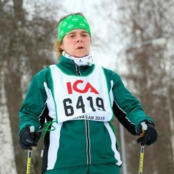 Skiing 30 km - Carola Ohlström (6419)