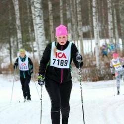 Skiing 30 km - Frida Dalevik (7189)