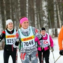 Skiing 30 km - Frida Gerhardsson (7048)