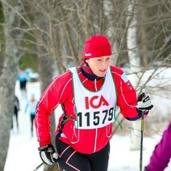 Skiing 30 km - Heidi Skoglund (11579)