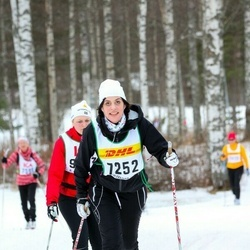Skiing 30 km - Alexandra Jämting (7252)