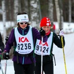 Skiing 30 km - Leonor Calatayud (8236), Carina Israelson (9124)