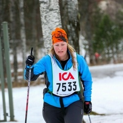 Skiing 30 km - Anette Ungfors (7533)