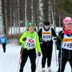 Skiing 30 km - Jenny Felth (7570), Boel Edvardsson (9426)