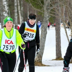 Skiing 30 km - Boel Edvardsson (9426)