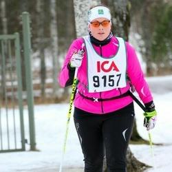 Skiing 30 km - Jenny Lundberg (9157)