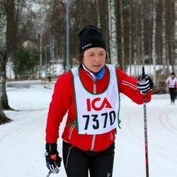 Skiing 30 km - Åsa Wistrand (7370)