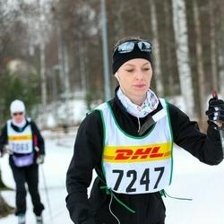 Skiing 30 km - Jeanette Tyllström (7247)