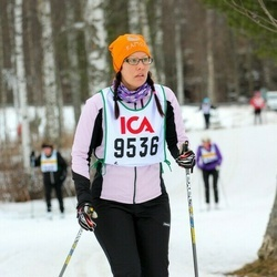 Skiing 30 km - Therese Wågesson (9536)