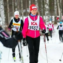 Skiing 30 km - Åsa Holmqvist-Eriksson (9552)