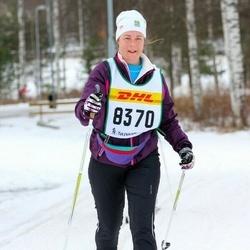 Skiing 30 km - Carin Dickell (8370)