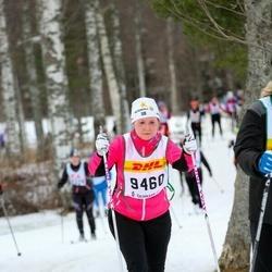Skiing 30 km - Hanna Aronsson (9460)