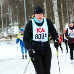 Skiing 30 km - Theres Sandstedt Johanson (8004)