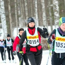 Skiing 30 km - Malin Klåvus (10154)