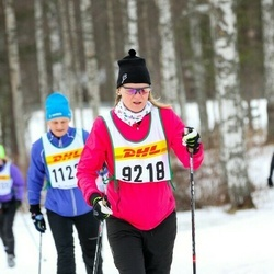 Skiing 30 km - Christina Kjellén (9218)