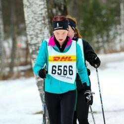 Skiing 30 km - Amanda Karlsson (6566)