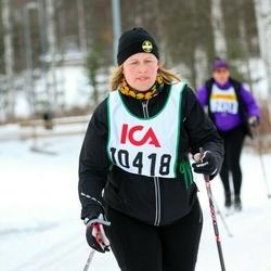 Skiing 30 km - Jenny Carlsson (10418)