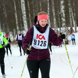 Skiing 30 km - Erica Domeij (9126)