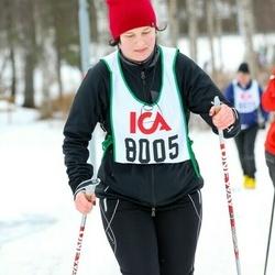 Skiing 30 km - Åsa Harrysson (8005)