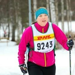 Skiing 30 km - Jenny Holmberg (9243)