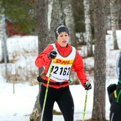 Skiing 30 km - Jenny Lingvall (12162)