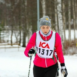 Skiing 30 km - Ebba Axelsson (11317)