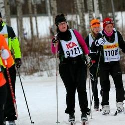 Skiing 30 km - Camilla Jönsson (9121)