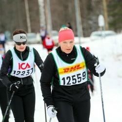 Skiing 30 km - Elisabeth Wedin (12559)
