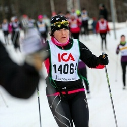 Skiing 30 km - Johanna Carlund (14064)