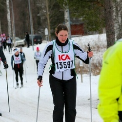 Skiing 30 km - Jennie Andersson (13597)
