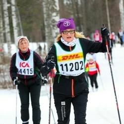 Skiing 30 km - Christel Kulle Mårtensson (11202)