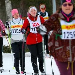 Skiing 30 km - Annelie Eklöf Orjala (11035), Jenny Orjala (11393)