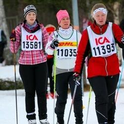 Skiing 30 km - Annelie Eklöf Orjala (11035), Jenny Orjala (11393), Johanna Suutari (13581)