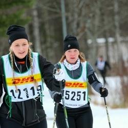 Skiing 30 km - Janina Heinonen (12119), Sandra Almgren (15251)