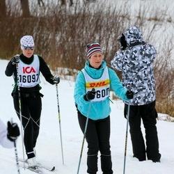 Skiing 30 km - Nadja Bäcklund (15600), Jeanette Elm (16097)