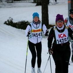 Skiing 30 km - Erika Lidholm (14543)